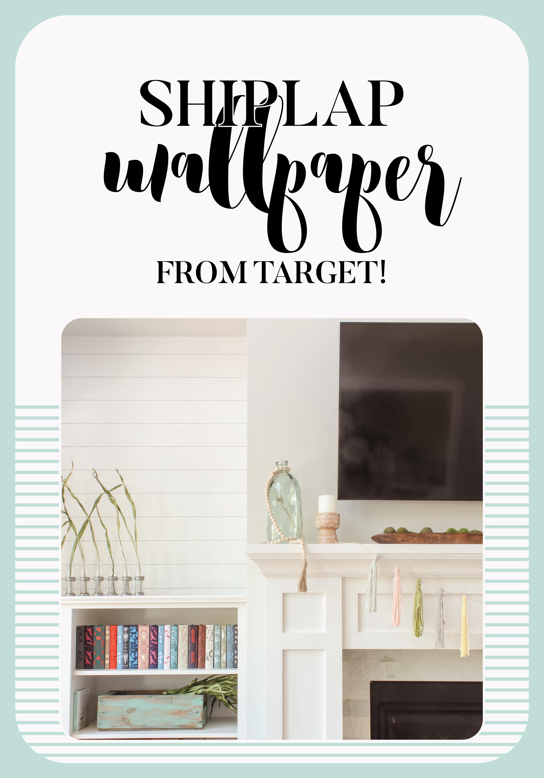 Target Devine Color By Valspar Shiplap Wallpaper Love